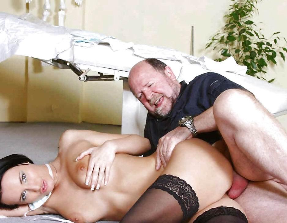 Dirty old men having sex