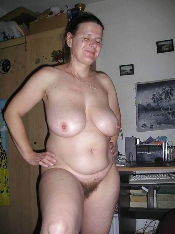 Big white dick in tiny hot milf