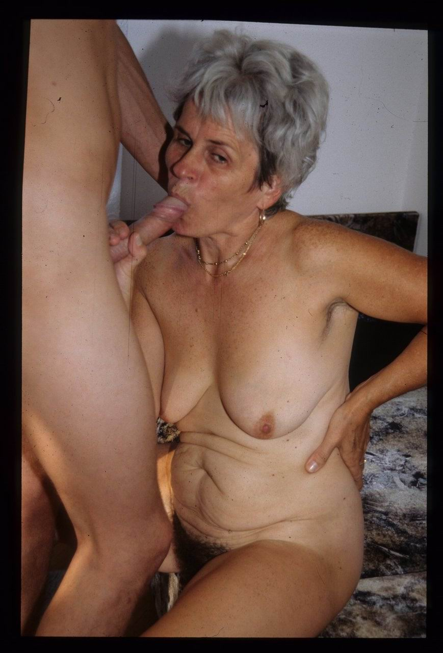 Old grannies and sons getting naked
