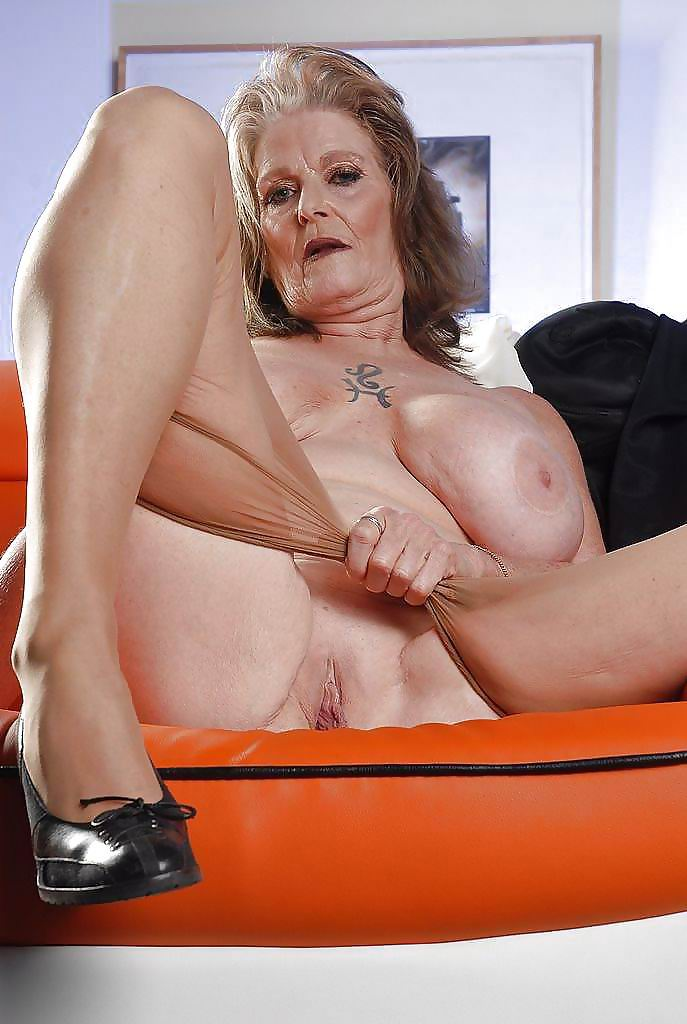 Horny old mature
