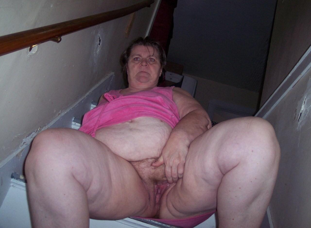 жирная старушка секс