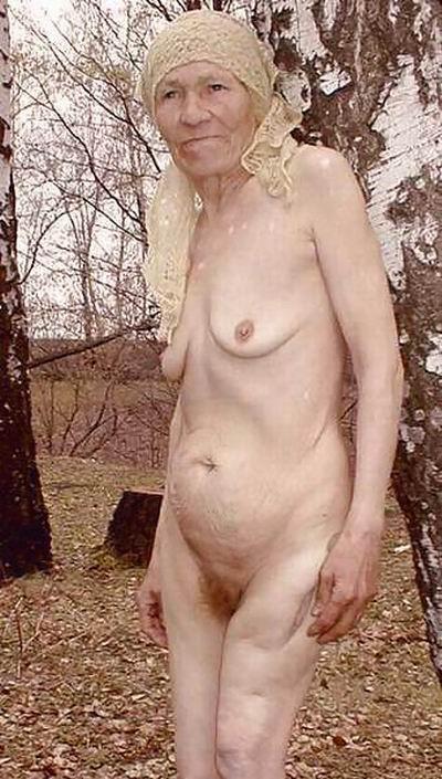Фото голых очень старых бабушек