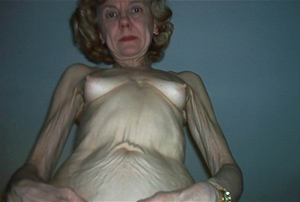 Very skinny granny