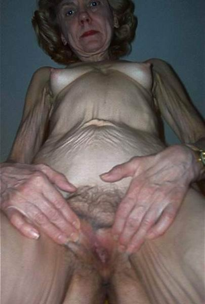Skinny granny ass