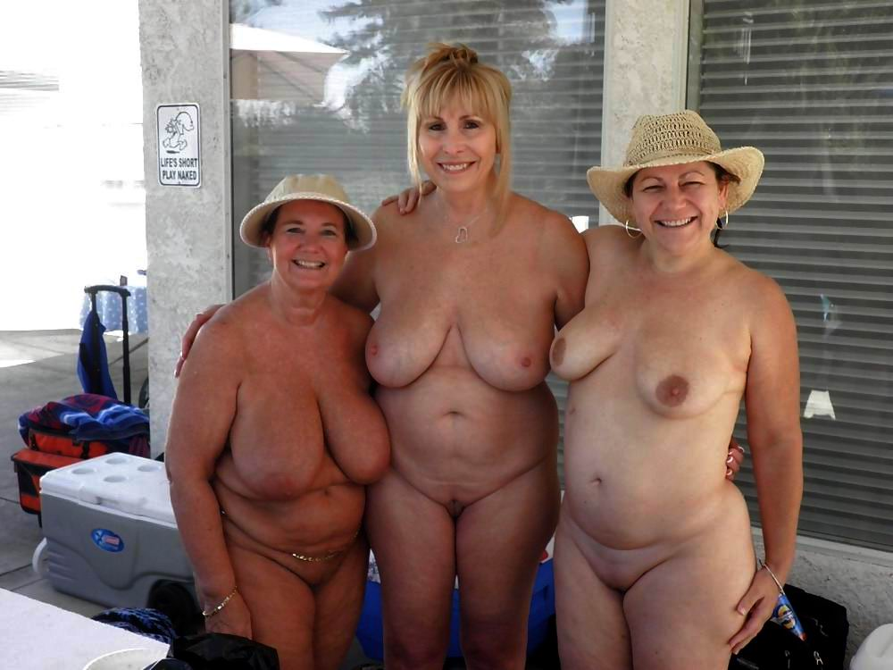 Large naked grannies