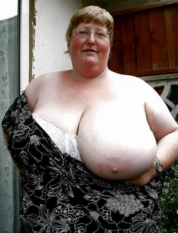 Big tits oma big tits