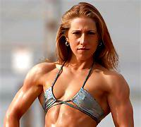 Female muscle is so nice and beautiful. Free