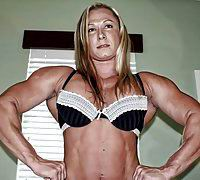 Beautiful muscle girl.18+