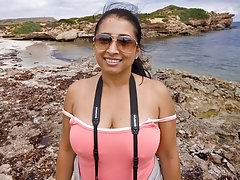 big boob indian amateur exposing on camera