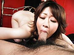 Rio Kagawa Asian has asshole and cooter fucked with sex toys