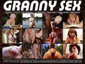 Granny Sex is one of the finest granny collections. A must for every granny lover! Old ladies doing just everything in front of the camera. Join Granny Sex and start downloading all mature and granny content right now!